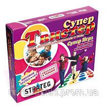 """Игра """"Супер Твистер"""" 379 (07157) """"STRATEG"""""""