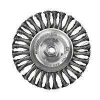 Щітка дискова S&R, сталевий плетений дріт 125