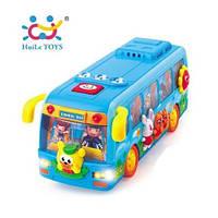 ✅ Игрушка Huile Toys Танцующий автобус (908)