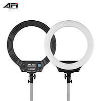 Кольцевая светодиодная лампа AFI R216, кольцевой LED свет 3000-6500К
