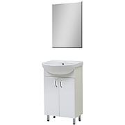 Комплект мебели для ванной комнаты Эко 50 с зеркалом Юввис