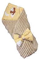 Зимний двухсторонний конверт BabyKolo 78 х 78 см Бежевый (ro70067)