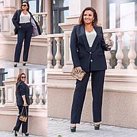 Костюм женский стильный  брюки и пиджак  40816, фото 1