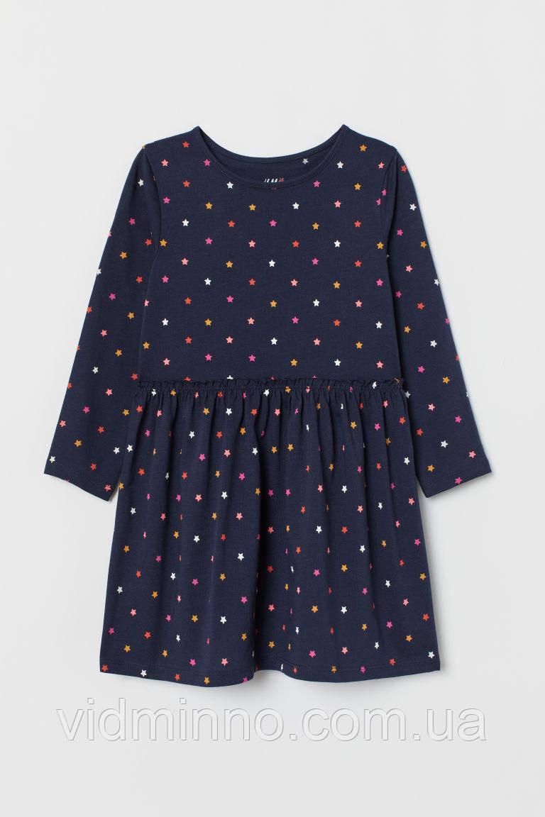 Дитяча сукня з довгим рукавом H&M на зріст 134-140 см