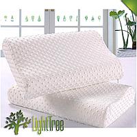 Ортопедическая подушка с эффектом памяти | Подушка для здорового сна, «Memory Pillow» белого цвета для сна