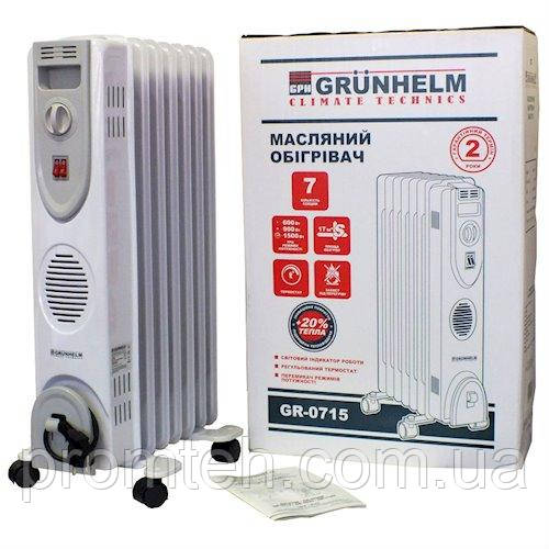 Масляний радіатор Grunhelm GR-0715