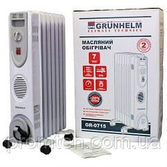 Масляный радиатор Grunhelm GR-0715