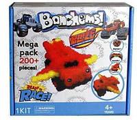Конструктор - липучка Bunchems (Банчемс) Вспыш 200 деталей.