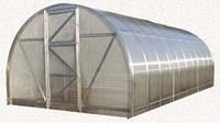 Арочная теплица под сотовый поликарбонат 3х6х2 м
