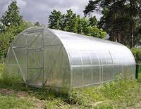 Арочная теплица под сотовый поликарбонат 3х4х2 м.