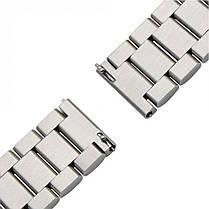 Стальной ремешок BeWatch 20 мм для Samsung Galaxy Watch 42 мм Серебристый (1110405), фото 2