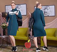 Женское платье на змейке Батал, фото 1