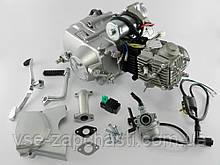 Двигатель Дельта/Альфа/Актив 70cc, механика, +карбюратор+комм+катушка
