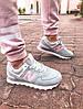 """Женские кроссовки New Balance 574 """"Gray/Pink"""" (в стиле Нью Баланс), фото 5"""