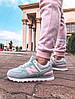 """Женские кроссовки New Balance 574 """"Gray/Pink"""" (в стиле Нью Баланс), фото 7"""