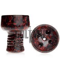 Чаша Goliath Bowl Tradi, Red Black Marble