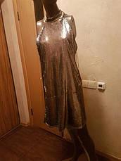 Распродажа! Miss Selfridge р. XL/50 Фирменое блестящее платье, фото 3
