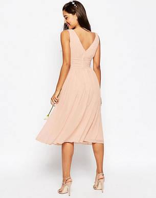 Распродажа! Asos р. M Фирменное розовое платье, фото 2