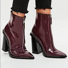 Распродажа! размер 38 Лакированные ботинки Missguided, фото 3