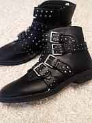 Фирменные черные ботинки Missguided размер 41