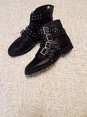Распродажа! размер 41 Missguided Фирменные черные ботинки, фото 2