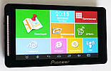 "Автомобильный GPS навигатор Pioneer 707 (G716) 7"" 8Gb Android 5.1, фото 2"