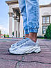 "Мужские кроссовки в стиле Adidas Yeezy Boost 700 v2 Static ""Grey"" ( в стиле Адидас), фото 2"