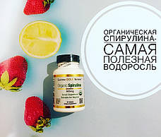 California Gold Nutrition Спирулина 60 шт, официальный сайт