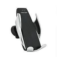 Автомобильный держатель для телефона Smart Sensor S5 c беспроводной зарядкой 100188, КОД: 1079607