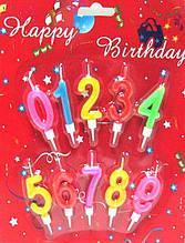 Свічки-цифри 10в1 (від 0 до 9ти) на Аркуші