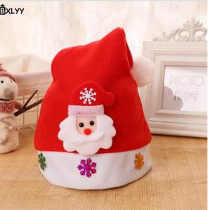 Новорічна шапочка BXLYY дитяча 46_детская/дм_снежинки