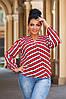 Женская блуза на запах  42-44, 46-48, 50-52, 54-56, фото 6