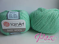 Пряжа ЯрнАрт Силк Вул (YarnArt Silky Wool ) №340