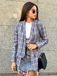 """Стильный женский пиджак в клетку в стиле """" Zara """""""