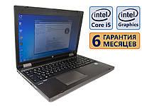 Ноутбук HP Probook 6570b COM-Port 15.6 (1366x768) / Core i5-3230M (2x max3.2GHz) / RAM 8Gb / SSD 120Gb / АКБ 42wh. / Сост. 9  из 10 БУ