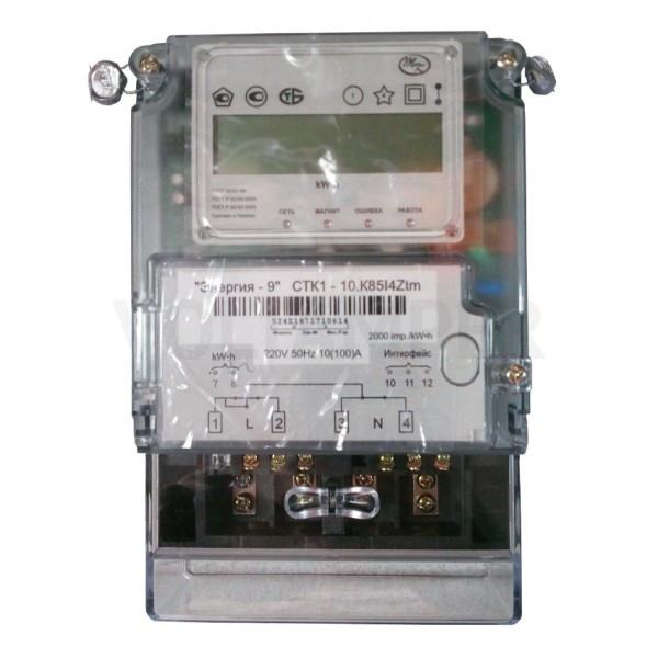 Счетчик электрической энергии однофазный многотарифный CTK1-10.K82 I4 Ztm-R2