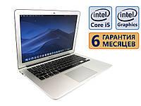 Ноутбук Apple A1466 2014 13.3 (1440x900) / Intel Core i5-4260U (2x max2.7GHz) / RAM 4Gb / SSD 120Gb / АКБ 5 ч. 30 мин.  / Сост. 8 из 10 БУ