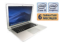 Ноутбук Apple MacBook Air A1466 2014 13.3 (1440x900) / Core i5-4260U (2x max2.7GHz) / RAM 4Gb / SSD 120Gb / АКБ 5 ч. 30 мин. / Сост. 8 из 10 БУ