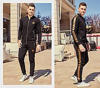 Стильный мужской спортивный костюм двухнить, фото 1
