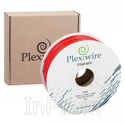 PETG пластик для 3D принтера красный 1,75мм (300м / 0,9кг), фото 2