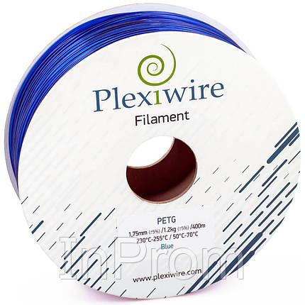 PETG пластик для 3D принтера синий 1,75мм (300м / 0,9кг), фото 2