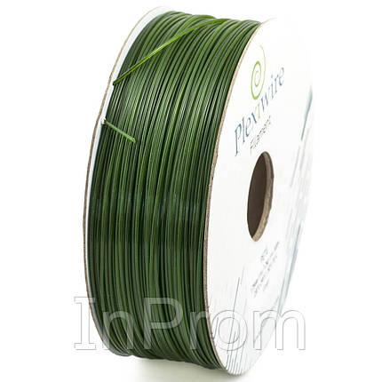 PETG пластик для 3D принтера зеленый 1,75мм (400м / 1,2кг), фото 2
