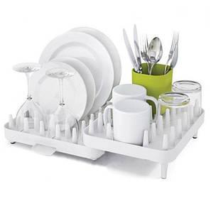 Сушилка для посуды | Многофункциональная кухонная полка Adjustibale Dishrack 7026, фото 2