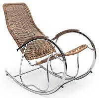 Halmar крісло-качалка BEN з штучного ротангу