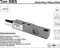 Датчик весоизмерительный тензорезисторный SBS С3