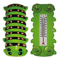 """Термометр оконный для крепления на стекло """"Гусеница""""., фото 1"""