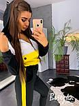 Женский спортивный костюм спорт шик с худи vN3417, фото 4
