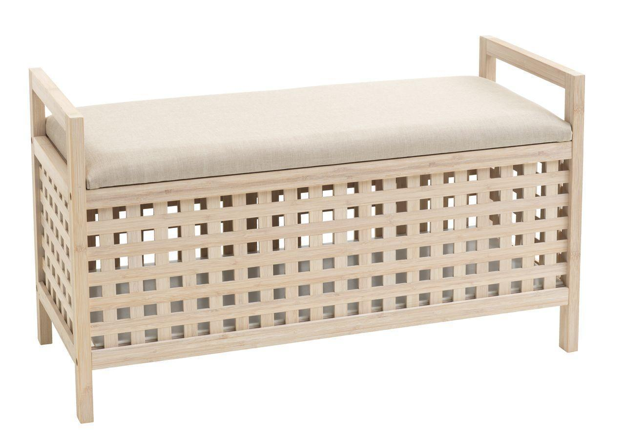 🏡Банкетка с емкостью для хранения (Бамбук и МДФ) | Банкетка с емкостью для хранения, Банкетка с емкостью