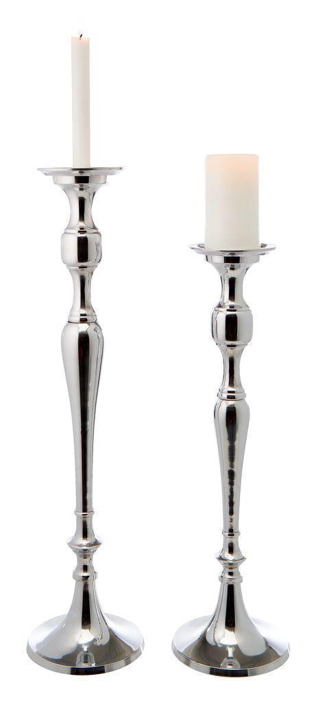🏡Два подсвечника на алюминиевые на 50 и 60 см | Подсвечник, Подсвечник 3 свечи, Подсвечник белый