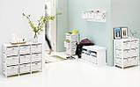 🏡Комод деревянный с 6-мя выдвижными ящиками, цвет белый   Комод -шкафчик 2-х дверный, Комод -шкафчик, Комод, комод, тумбы 2-х дверная, Комод с 4-мя, фото 4